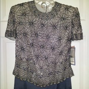 Size Small Papelle Boutique Sequence Formal blouse